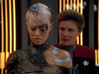 "Seven of Nine joins the crew (""The Gift"")."